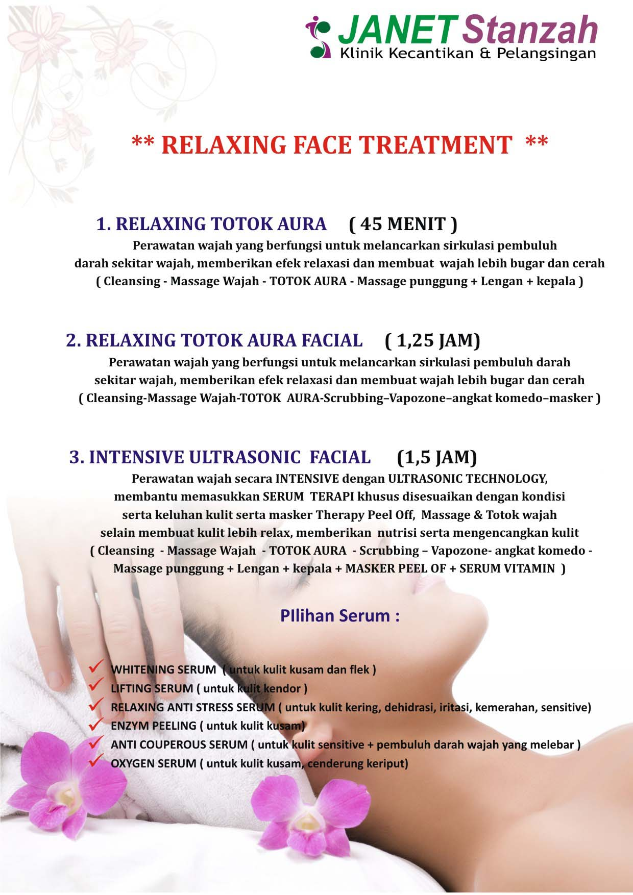 Relaxing Face Treatment #01